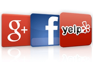 Google Facebook Yelp Reviews